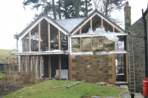 leam cottage construction image