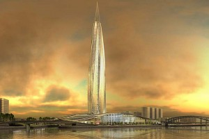 okhta tower rendering