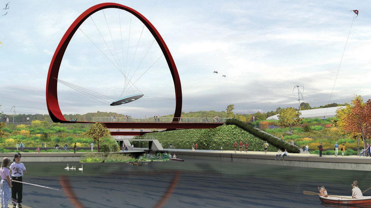 olympic bridge rendering